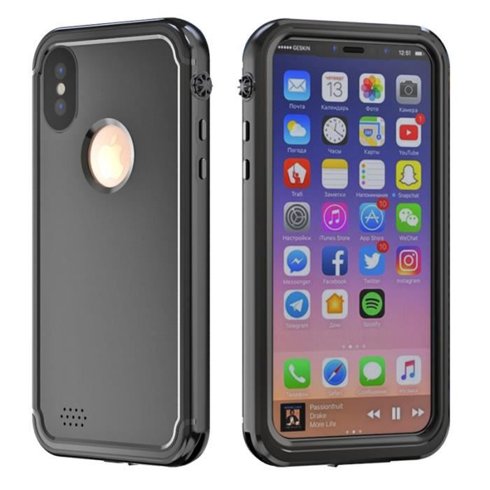 coque integrale etanche iphone x