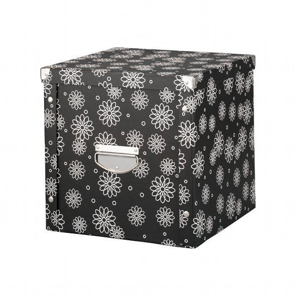 boite de rangement pliable en carton 25 l achat vente. Black Bedroom Furniture Sets. Home Design Ideas