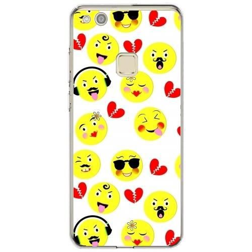 coque huawei p10 lite smiley
