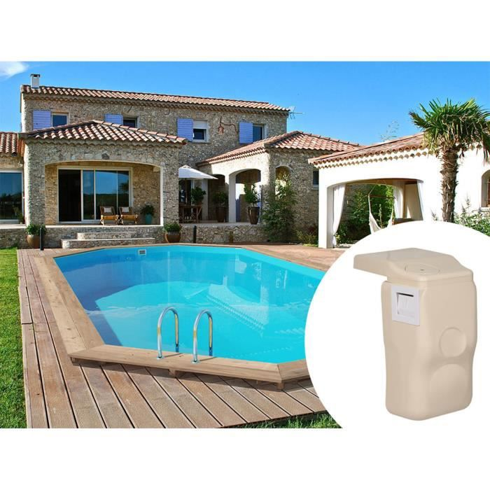 Piscine bois palma x x m kit hors bord for Piscine 31