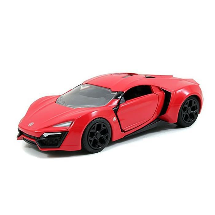 alg minis lykan hypersport fast and furious 7 1 32 achat vente voiture camion cdiscount. Black Bedroom Furniture Sets. Home Design Ideas