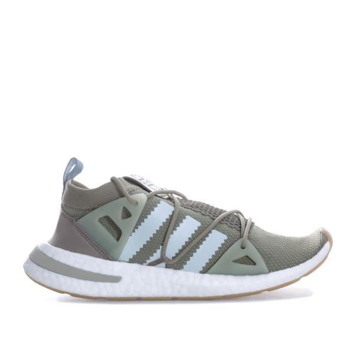basket adidas femme kaki