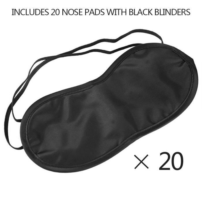 Ultra confort sommeil Masque Aide ombre couverture Bandeau pour le repos de voyage