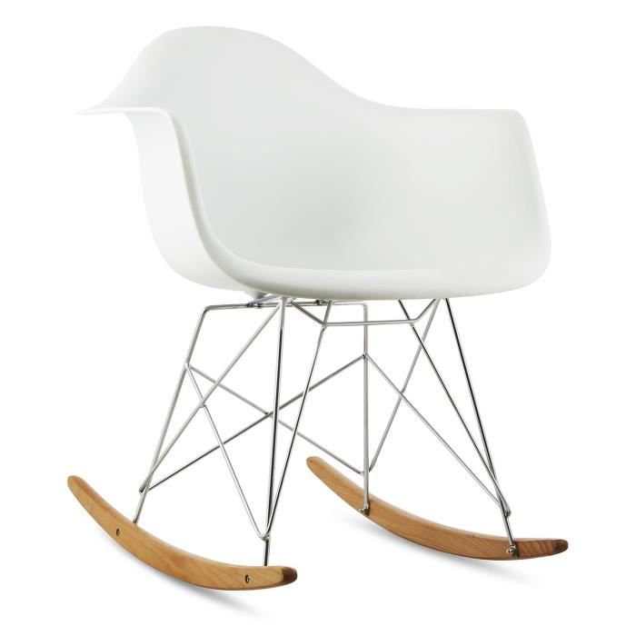 chaise eames bascule stunning chaise bascule eames rar blanche with chaise eames bascule cool. Black Bedroom Furniture Sets. Home Design Ideas
