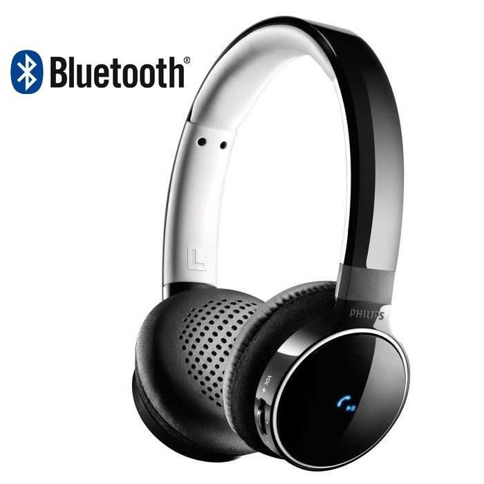 philips shb9150bk casque audio bluetooth noir achat. Black Bedroom Furniture Sets. Home Design Ideas