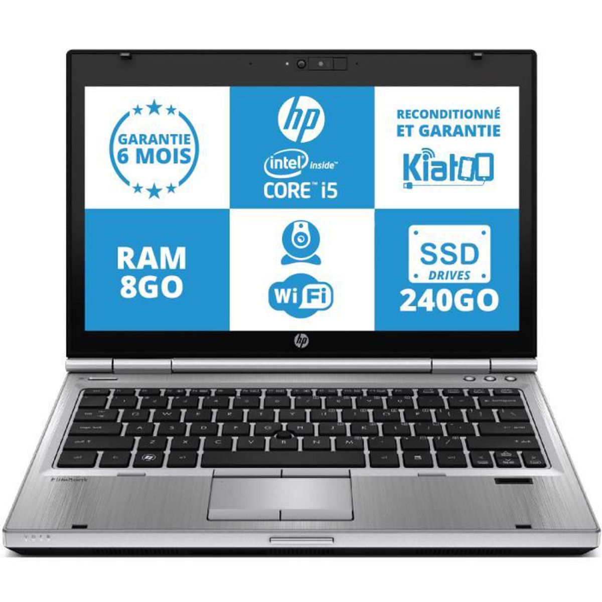 ordinateur portable hp elitebook 2560 ultrabook intel core. Black Bedroom Furniture Sets. Home Design Ideas