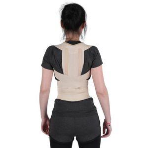 PROTÈGE-DOS Correcteur Épaule Support Dos de Posture Taille Po