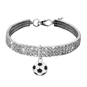 COLLIER Mignon Mini chien bling strass Chocker Colliers Fa