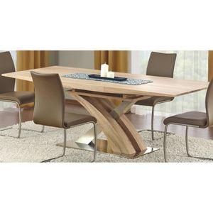 TABLE À MANGER SEULE TABLE A MANGER DESIGN EXTENSIBLE 160÷220/90/75 CM