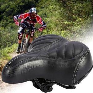 SELLE - TIGE DE SELLE Selle Siège de Vélo Bicyclette Coussin Gel Confort