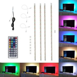 ruban led rgb usb achat vente ruban led rgb usb pas cher cdiscount. Black Bedroom Furniture Sets. Home Design Ideas