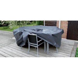 Protection table ronde achat vente protection table ronde pas cher cdiscount for Chaise pour table ronde