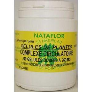CIRCULATION SANGUINE Complexe circulatoire 260 mg 240 gélules - Comp...