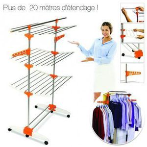 Etendoir linge interieur achat vente etendoir linge for Etendoir a linge interieur design