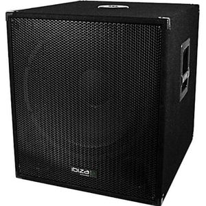ENCEINTE ET RETOUR Caisson bi-amplifié 1200W IBIZA SOUND CUBE1815SOLO