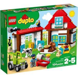 ASSEMBLAGE CONSTRUCTION LEGO® DUPLO® Ma ville 10869 Les aventures de la fe