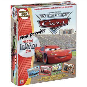 JEU SOCIÉTÉ - PLATEAU Mon premier DVD Jeux Cars