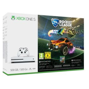 CONSOLE XBOX Xbox One S 500 Go Rocket League
