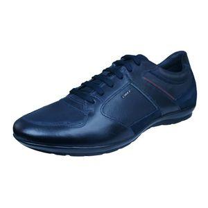 BASKET Geox U Symbol A Baskets en cuir - Chaussures Homme