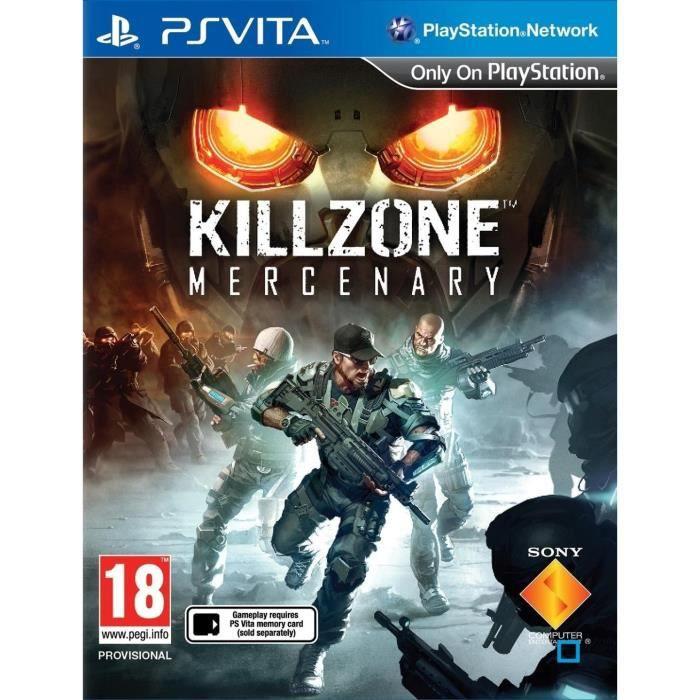 Killzone : Mercenary Jeu PS Vita