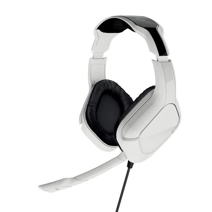 Casque Gaming Stereo Gioteck SX6 blanc pour PS4 et Xbox One