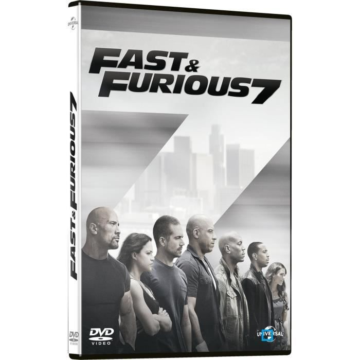 dvd fast furious 7 en dvd film pas cher cdiscount. Black Bedroom Furniture Sets. Home Design Ideas
