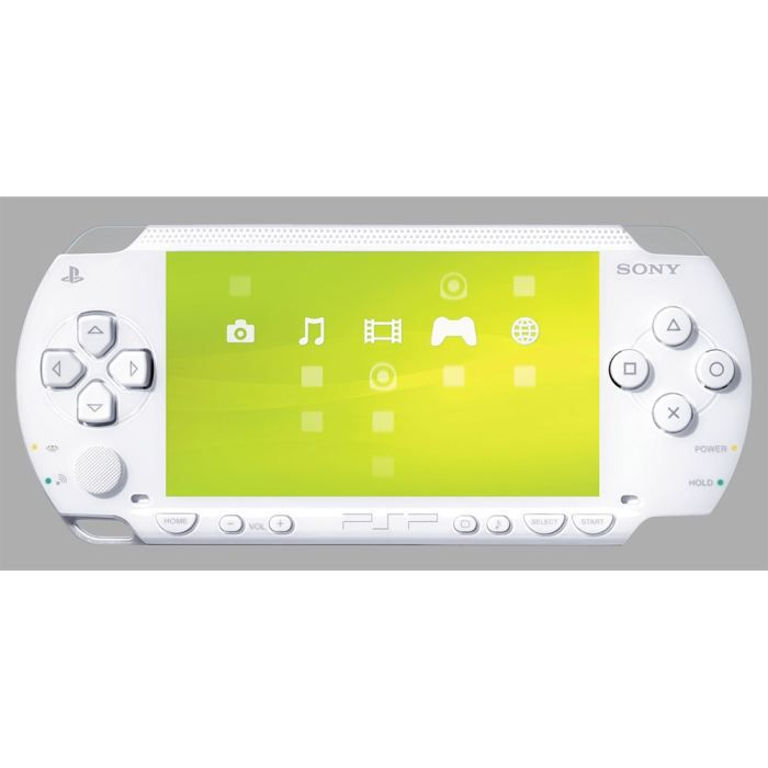 CONSOLE PSP CONSOLE SONY PSP BLANC CERAMIQUE