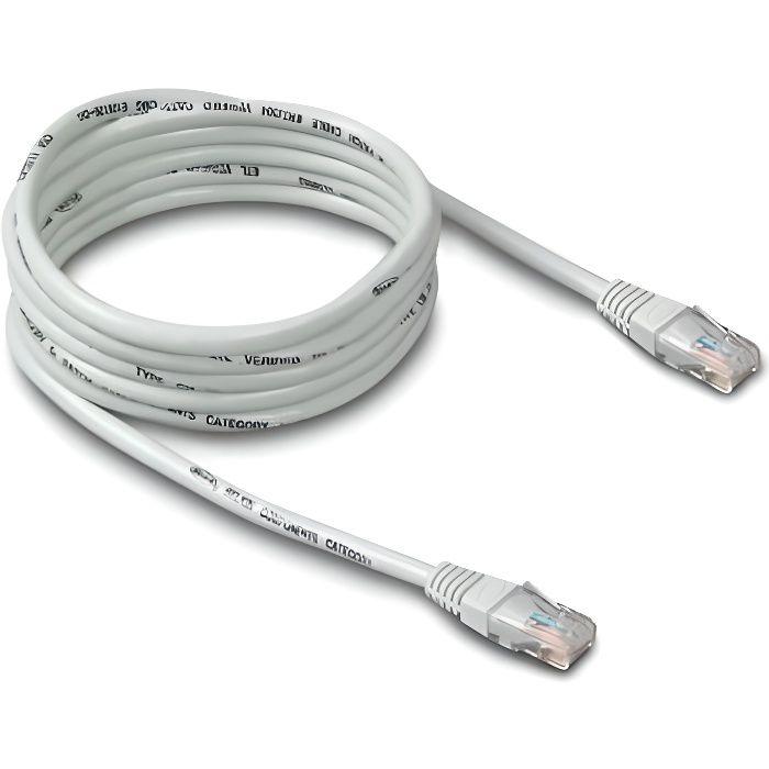 Cable Réseau Rj45 30m Cat. 5 Droit