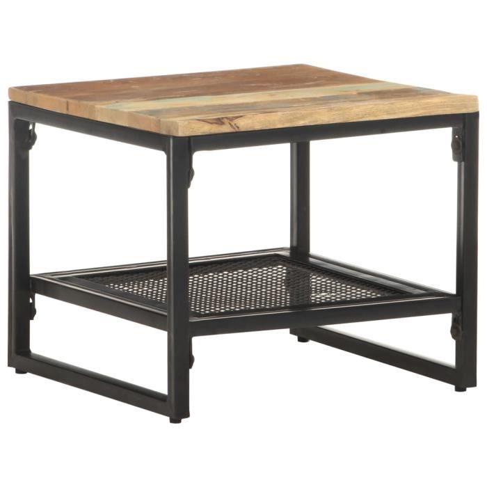Jardin*4896PARFAIT Table d'Appoint décor Moderne - Console Table Basse Bout de canapé - Table d'entrée Pour Salon Chambre 40x40x35 c