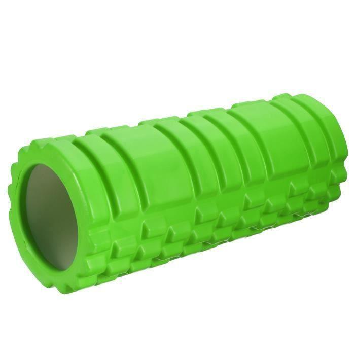 Rouleau de Yoga Mousse Muscle Massage EVA + PVC vert