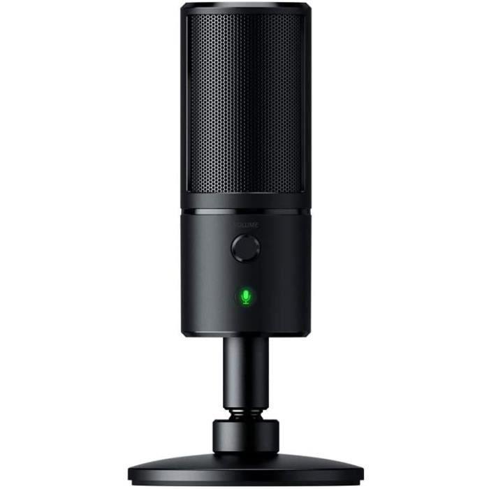 Razer Seiren X Microphone US de Diffusion Electrostatique Microphone Streaming avec Mode de Captation Ultra Preacutecis Rea[43]