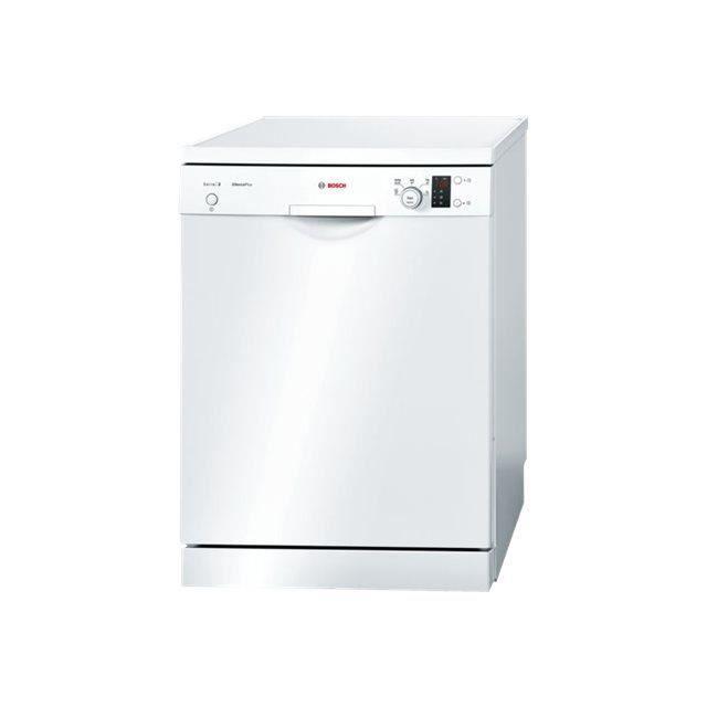 Bosch Serie - 2 SilencePlus SMS25AW00E Lave-vaisselle pose libre largeur : 60 cm profondeur : 60 cm hauteur : 84.5 cm blanc