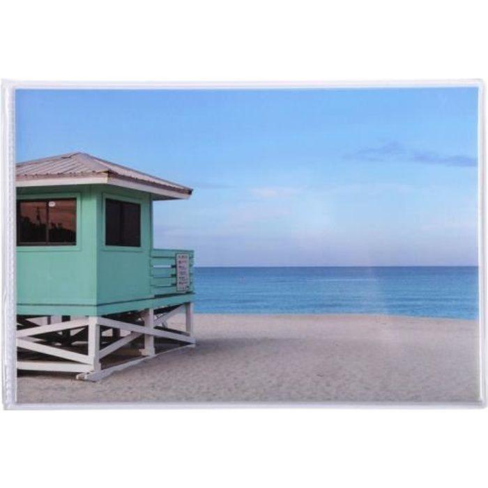 Exacompta - Album photos pochettes souples 24 photos 10x15 cm - Miami Beach