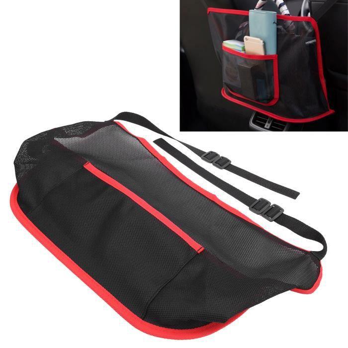 sac de rangement en filet Support universel de poche pour filet de voiture entre les sièges organisateur de sac de-FUT