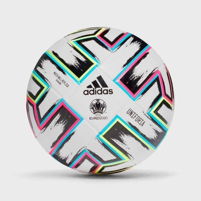 Ballon de Football Uniforia Adidas Top Glider Officiel Euro 2020 Taille 5