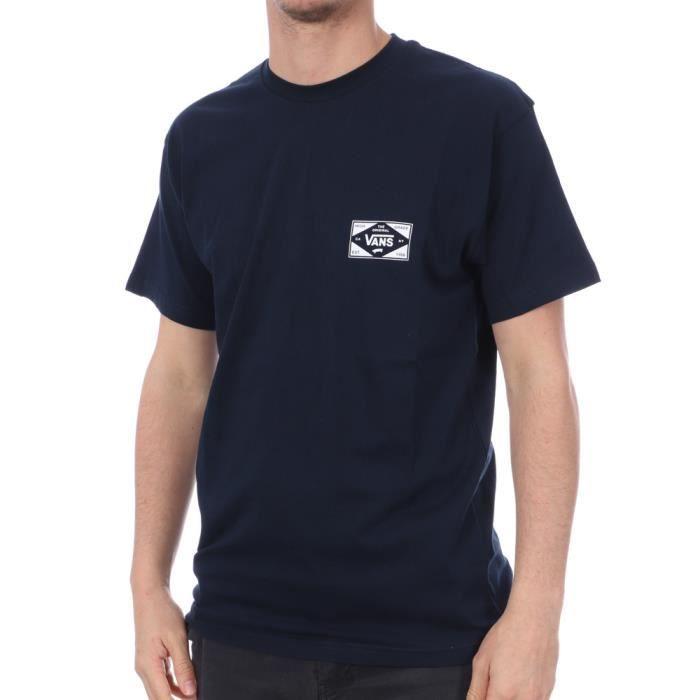 T-shirt Marine Homme Vans MN Best