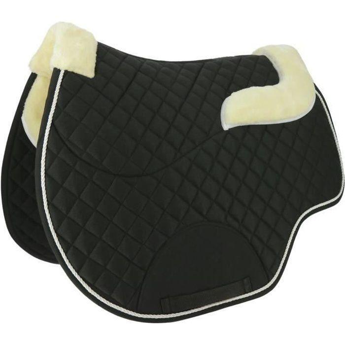 Tapis/amortisseur NORTON -Confort- - Couleur : noir, Taille : cheval