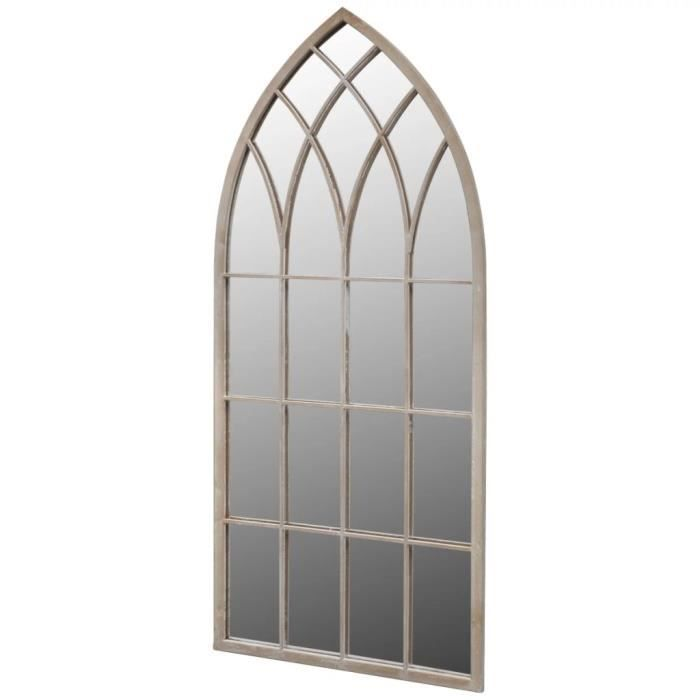 Luxueux Magnifique-Miroir de Jardin Arche rustique Luxueux Magnifique-Luxueux Magnifique-5 x 50 cm Intérieur et Extérieur