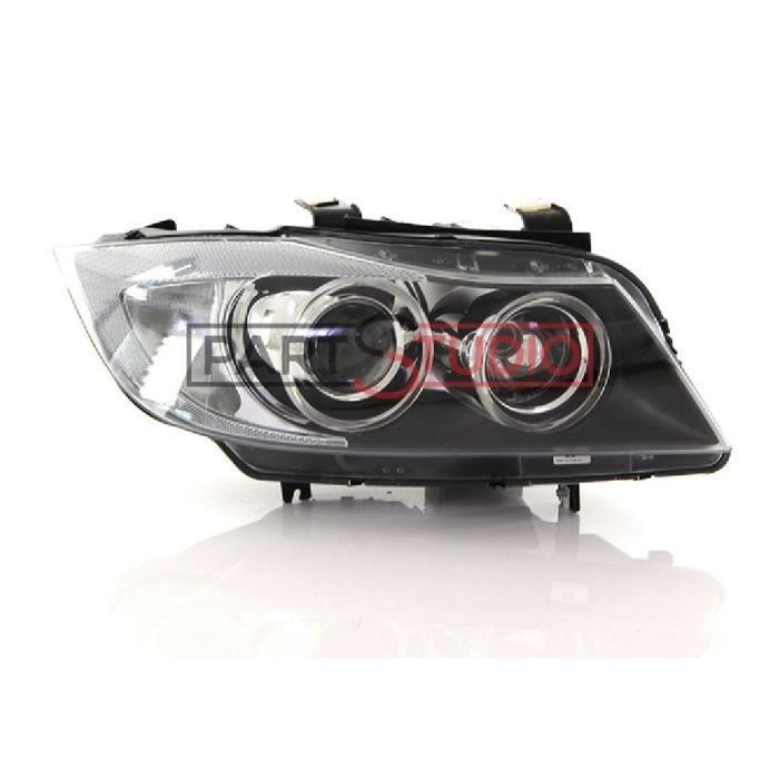Optique, phare avant droit Bi-Xenon, BMW Série 3 E90 de 03/05 à 10/08