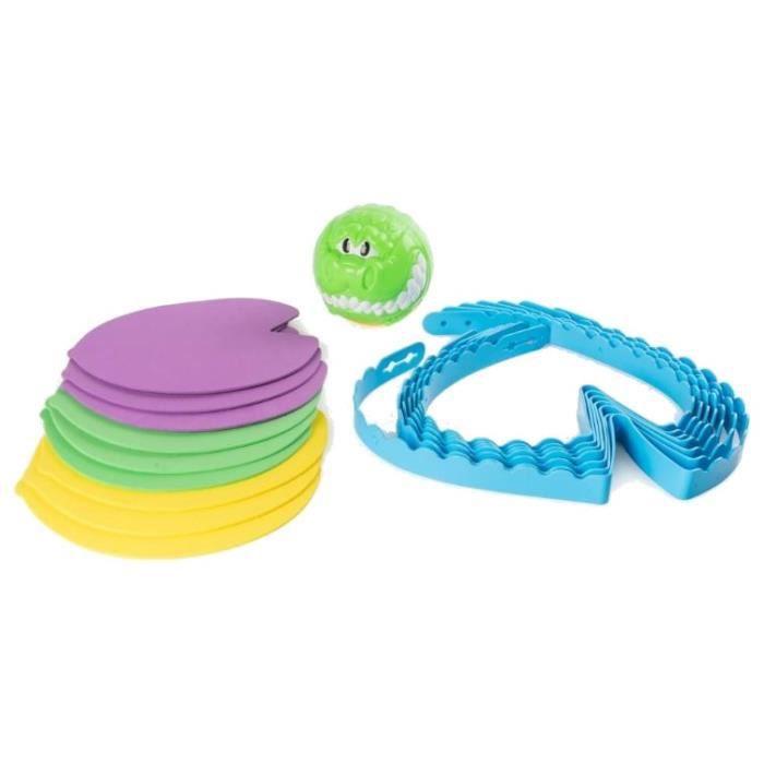 Spin Master jeu d'adresse Croc'n Roll vert