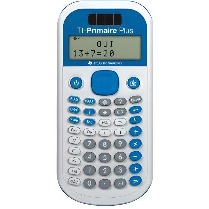 TEXAS Calculatrice Scientifique - TI Primaire PLUS Solaire