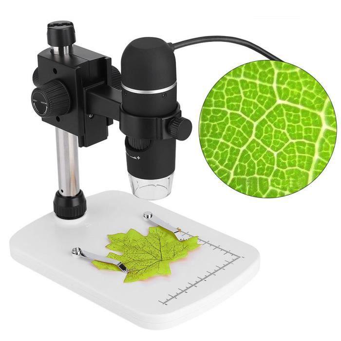 5MP 300X 8 LED USB Digital Microscopio Endoscope Zoom Loupe Pour Mac de Windows