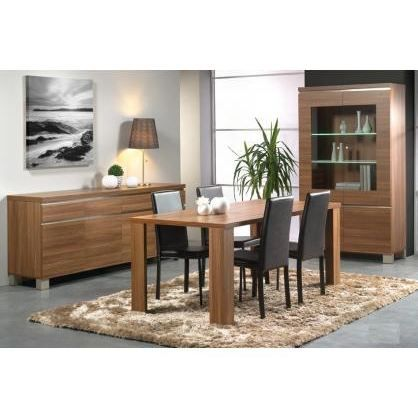 salle manger moderne dixie ii achat vente salle manger salle manger cdiscount. Black Bedroom Furniture Sets. Home Design Ideas