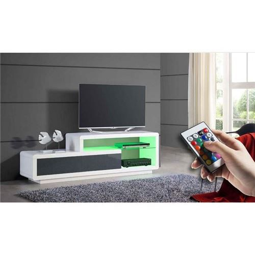 Meuble tv design moss achat vente meuble tv meuble tv for Photo meuble tv design