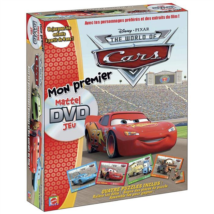 mon premier dvd jeux cars achat vente jeu soci t plateau cdiscount. Black Bedroom Furniture Sets. Home Design Ideas