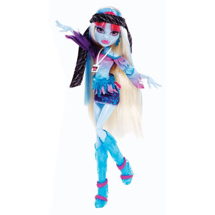 poup  233 e monster high abbey bominable music festivalMonster High Dolls 13 Wishes Abbey