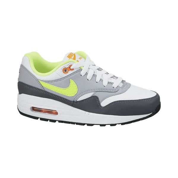 basket nike air max 1 essential noir et gris