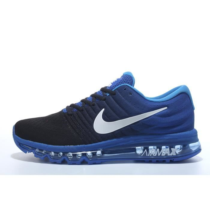 buy popular bb699 1a547 NIKE Air Max 2017 Baskets Chaussures de Running Homme Bleu Bleu Bleu ...