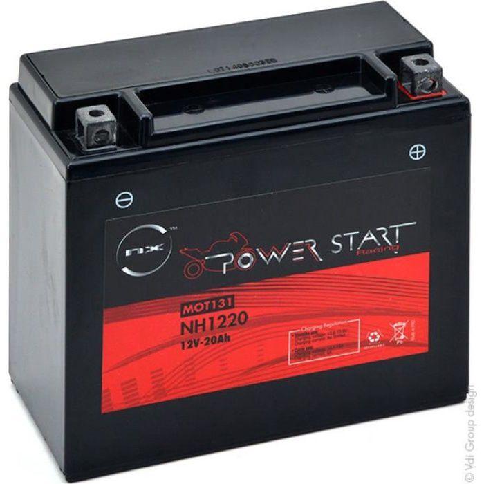 550 20AH Batterie Gel TGB Target 525