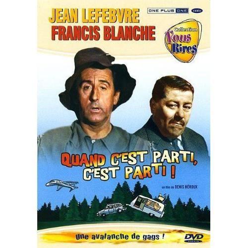 DVD FILM DVD Quand c'est parti c'est parti
